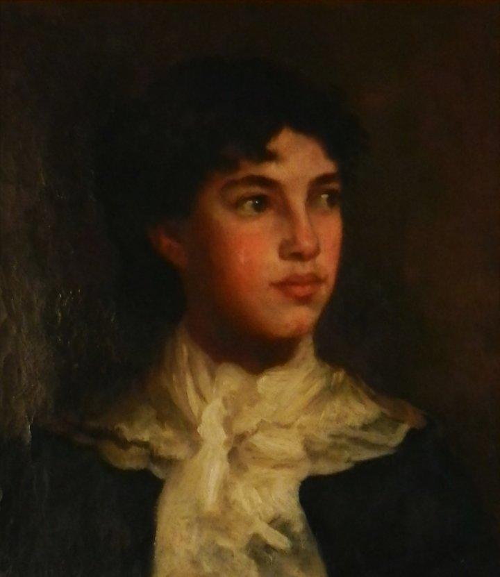 John Singer Sargent (American, 1856-1925) Portrait Oil