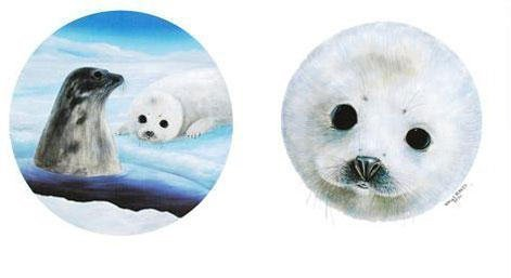 """Robert Wyland """"Save the Seals"""" Lithograph"""