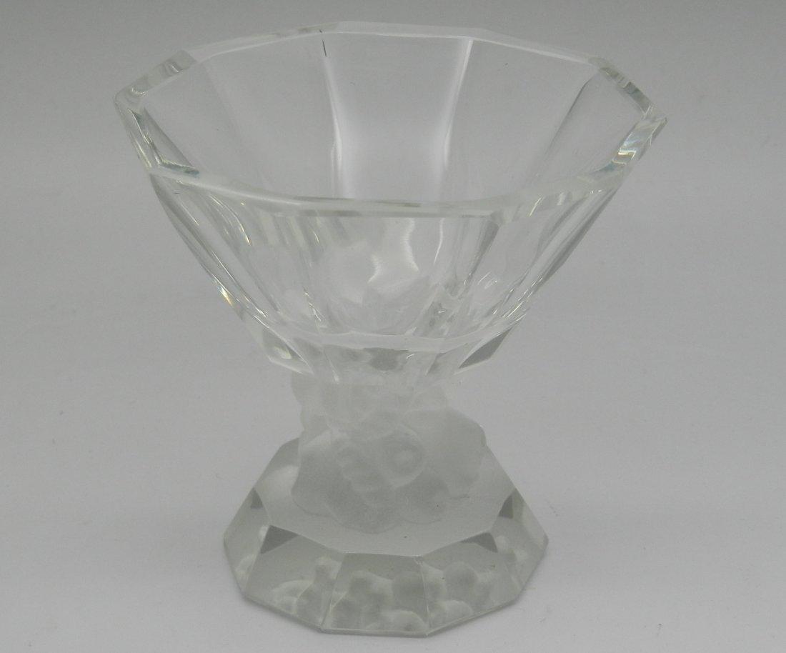 Lalique French Open Salt Dip Bowl