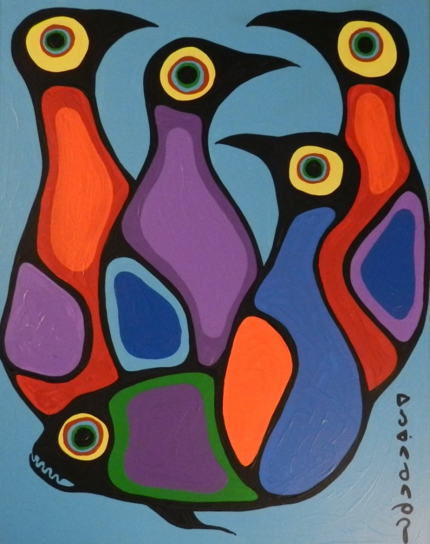 Norval Morrisseau (Canadian, 1931-2007)