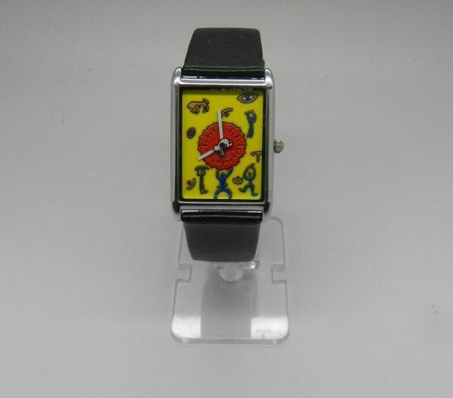 Keith Haring Dancing Figures Men's Watch