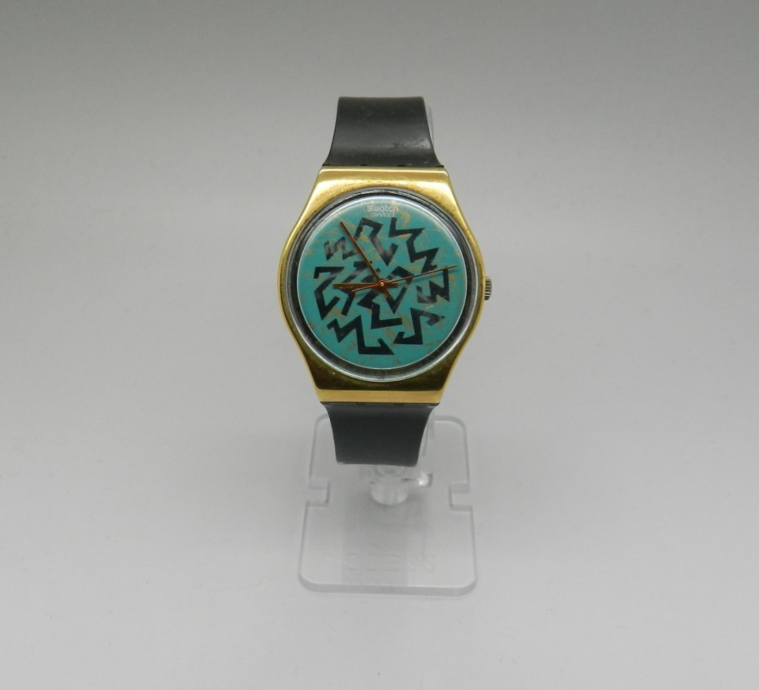Keith Haring Men's Swatch Watch