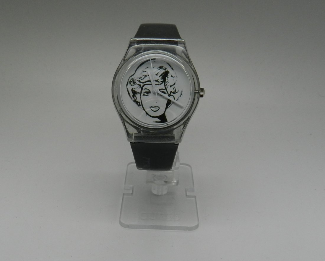Vintage Andy Warhol Marilyn Men's Watch