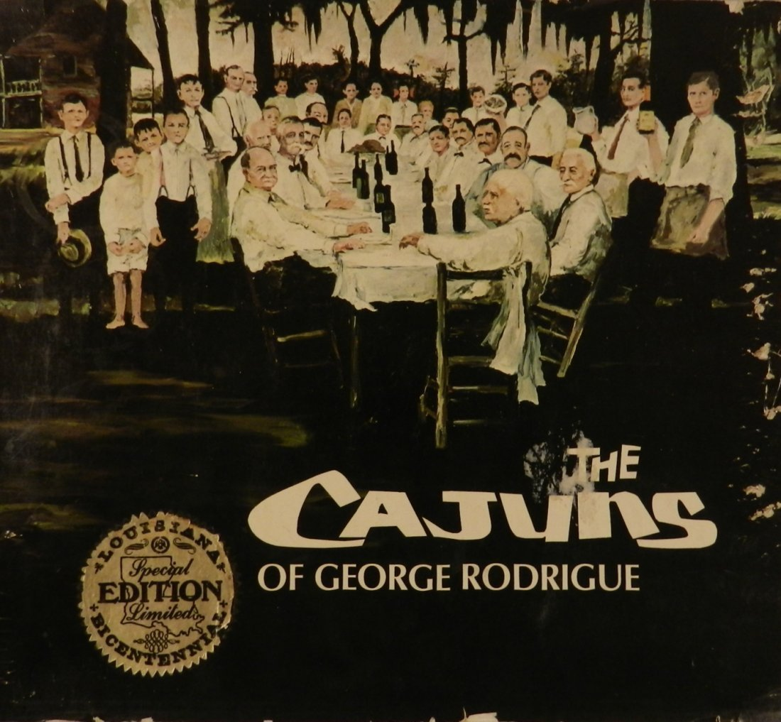 George Rodrigue Hand Signed Book