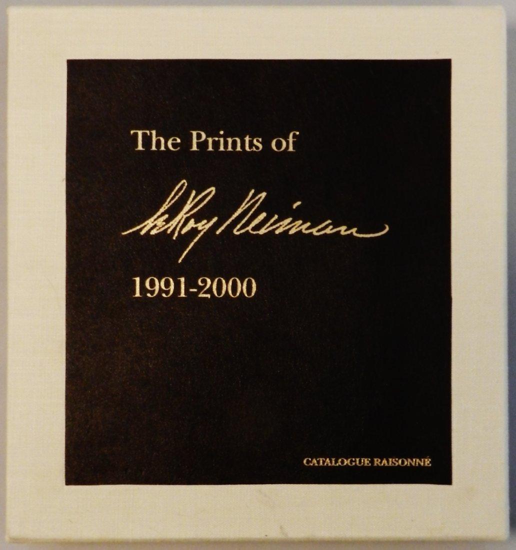 LeRoy Neiman Hand Signed Catalogue Raisonne