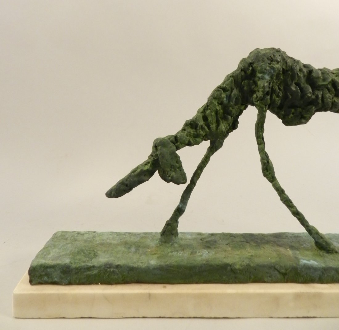 Bronze Sculpture of a Dog Alberto Giacometti - 3