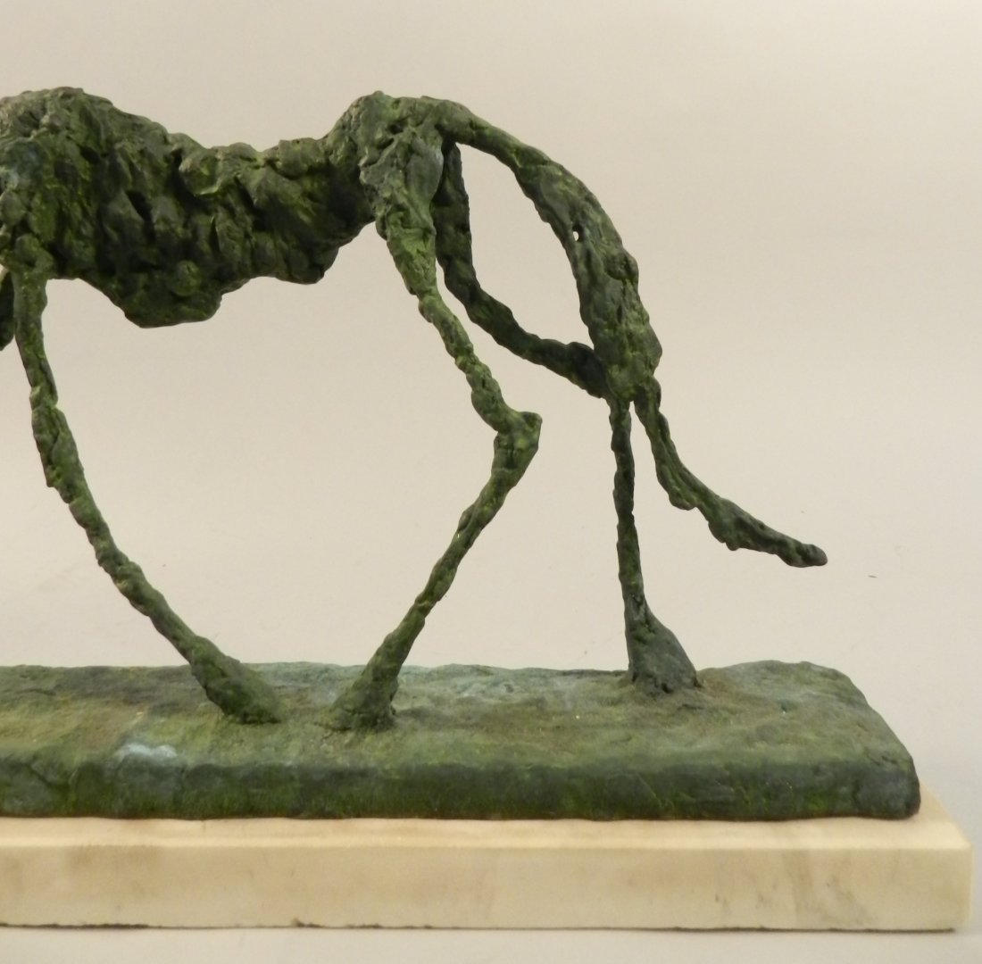 Bronze Sculpture of a Dog Alberto Giacometti - 4