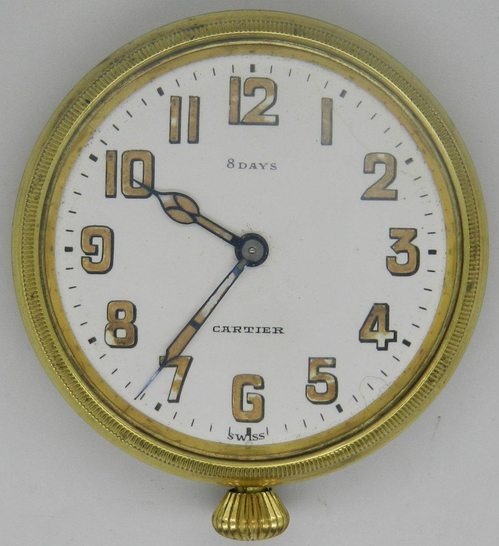 Vintage Cartier 8 Days Pocket Watch