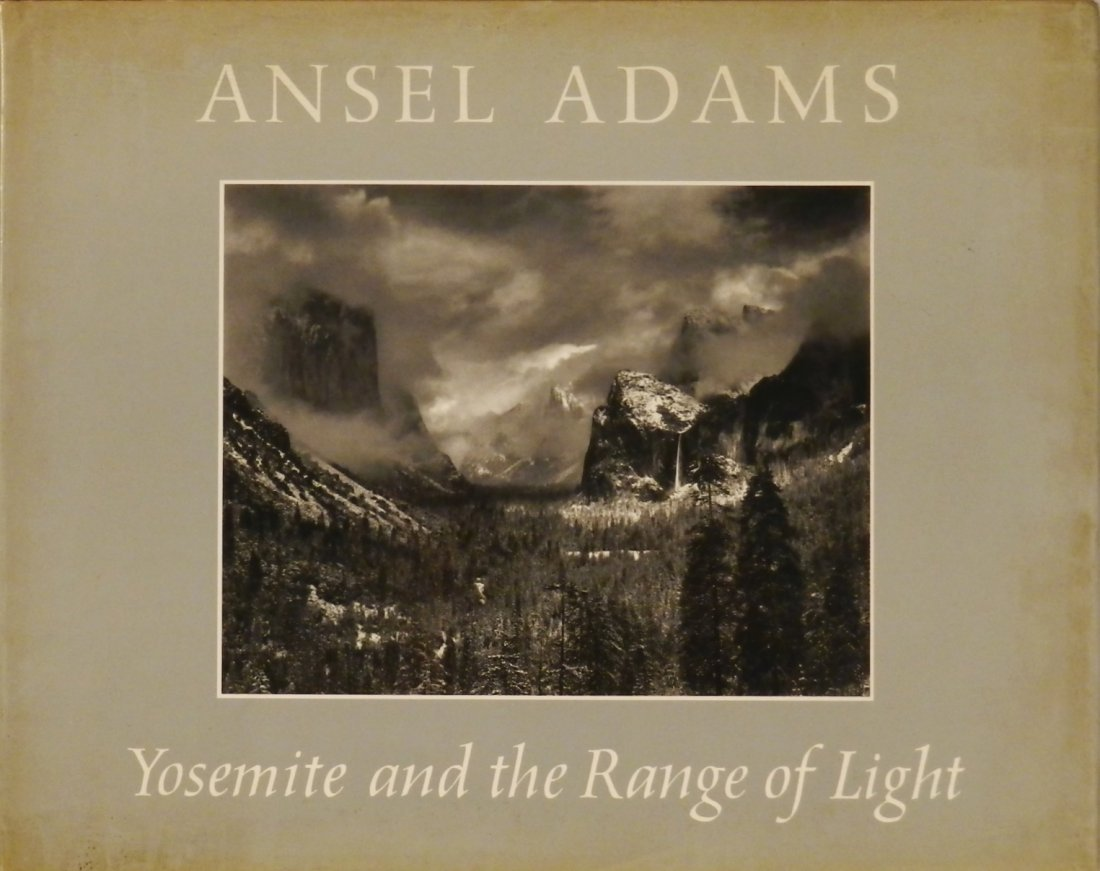 ANSEL ADAMS Signed Special Edition Book
