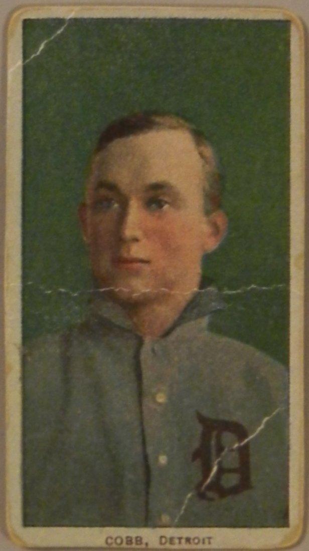 Baseball Card Ty Cobb Detroit Piedmont Cigarettes