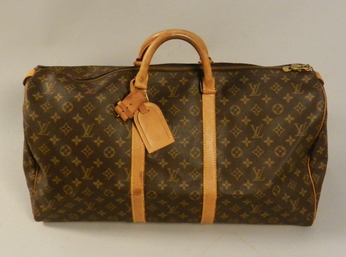 Louis Vuitton Monogram Keepall 55 Travel Bag