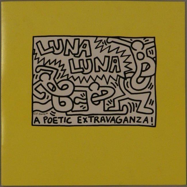 Keith Haring (American, 1958-1990) Luna Luna