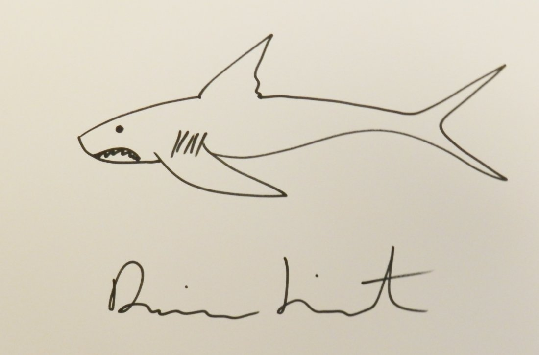 Damien Hirst Original Drawing