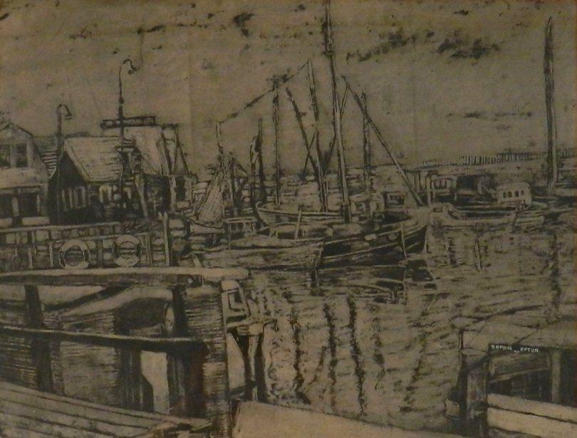 Sophie Onton Original Charcoal Sketch