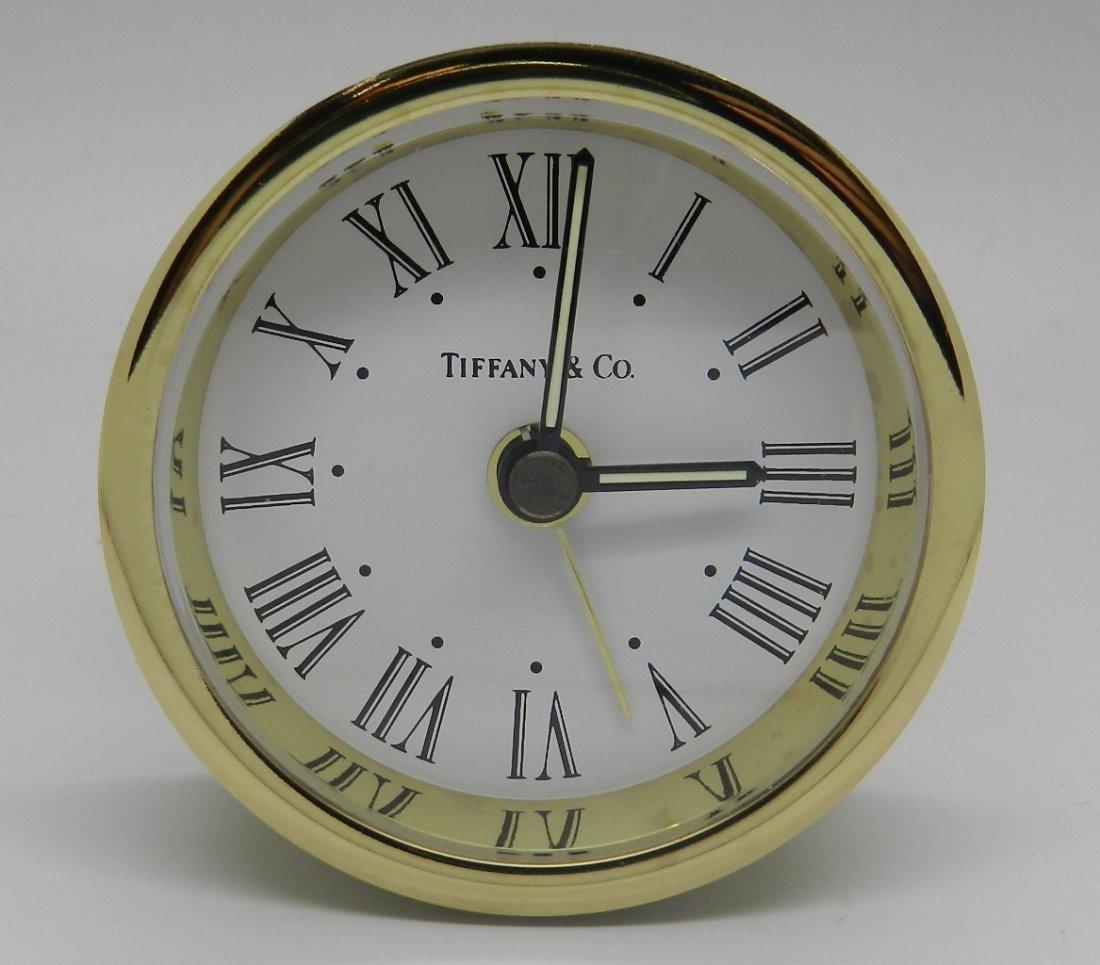 Tiffany & Company Travel Clock
