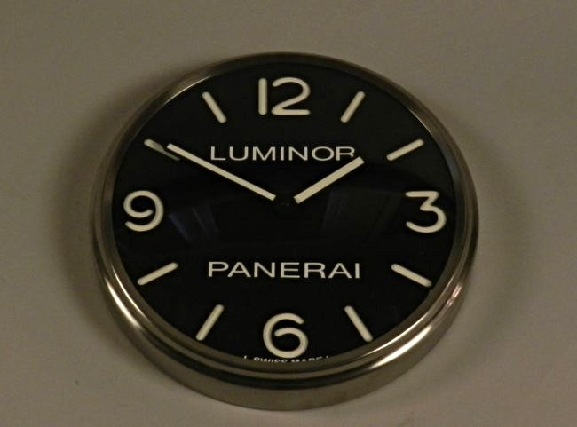 Panerai Luminor Dealer Wall Clock