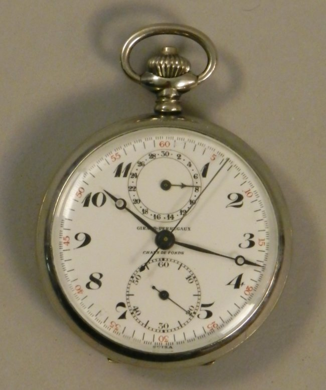Girard Perregaux White Dial Stopwatch