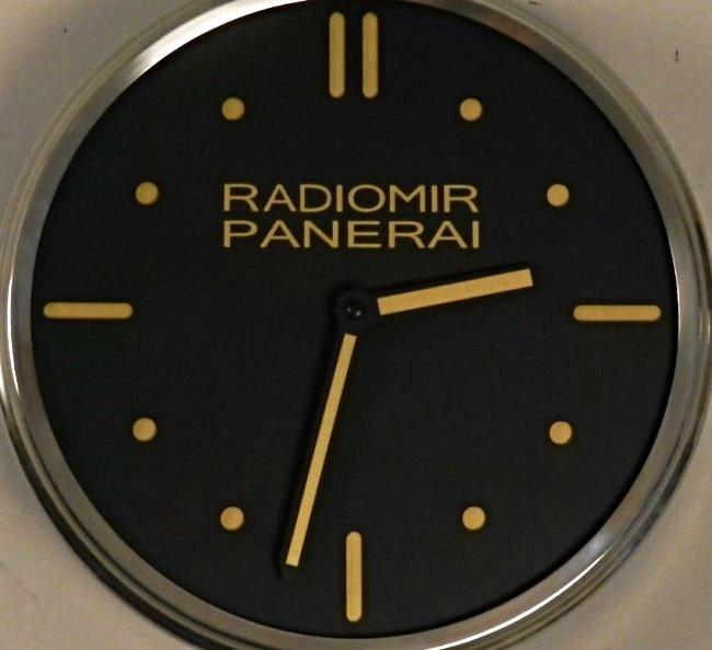 Radiomir Panerai  Dealer Wall Clock - 2