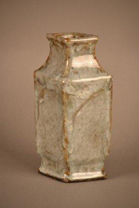 Thick Glazed Vase