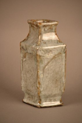 7: Thick Glazed Vase