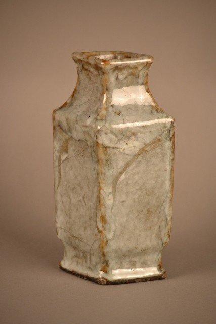 7: Thick Glazed Vase