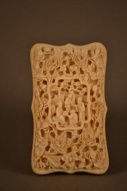 14: Ivory Card Case