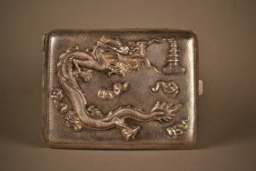 15: Silver Cigarette Case
