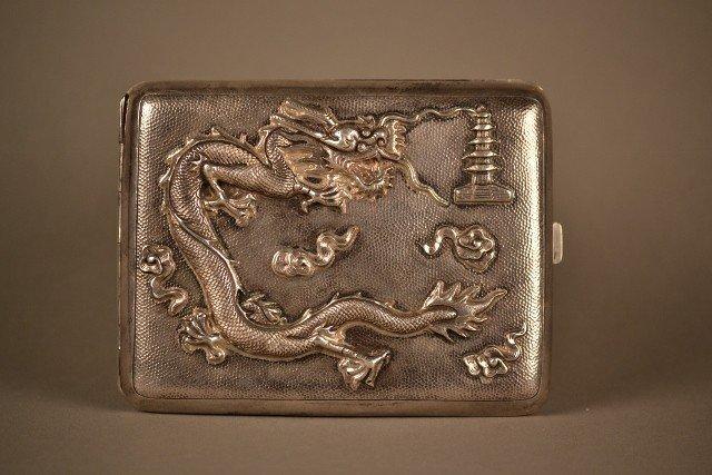 15: Silver Cigarette Case