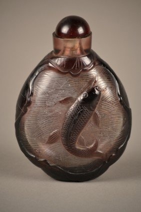 Peking Glass Bottle