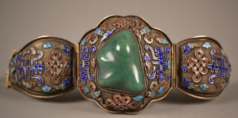 74: Silver Bracelet