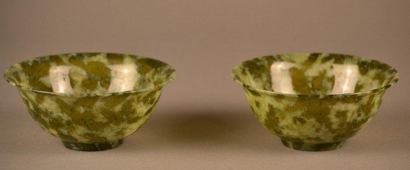 77: Pair of Jade Bowls