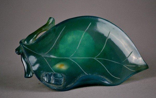 78: Green Agate Leaf