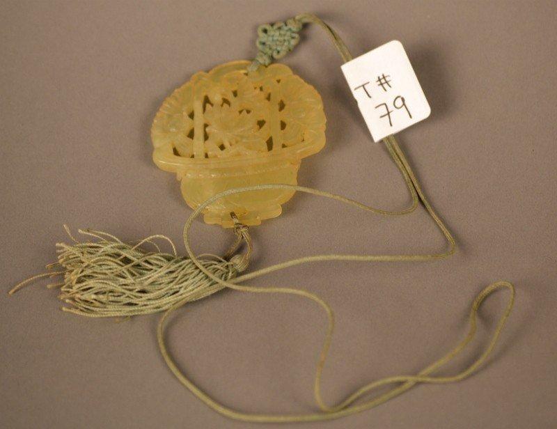 79: Jade Pendant