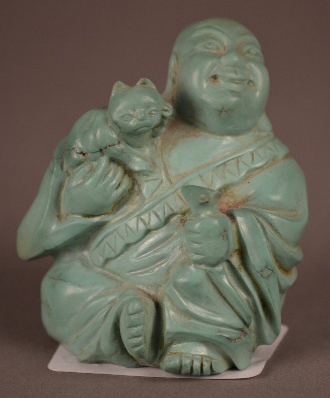 83: Turquoise Buddah