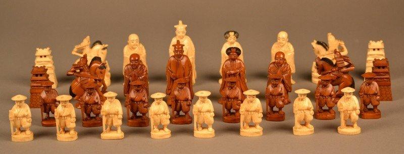 92: Ivory Chess Set