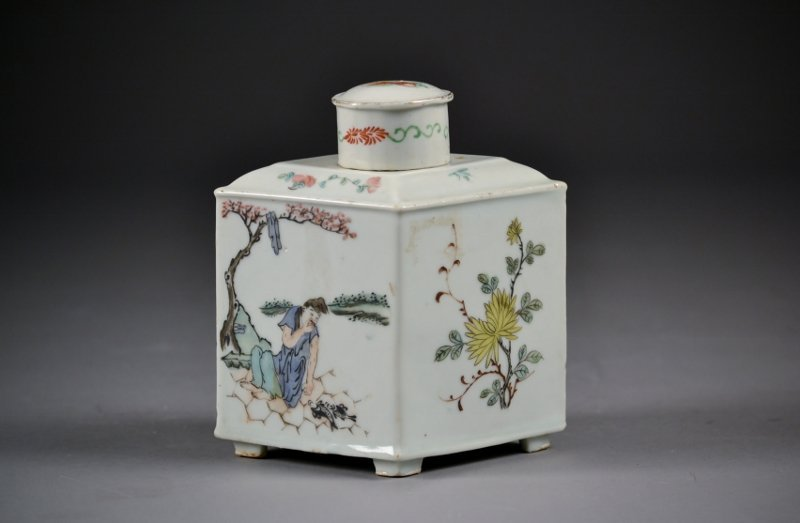 134: Chinese Republic Period famille rose porcelain