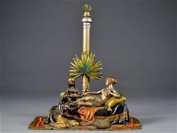 128: Austrian Vienna Bronze signed Chotka