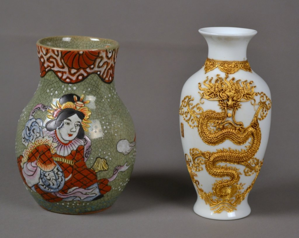 8: Pr. of Asian Vases