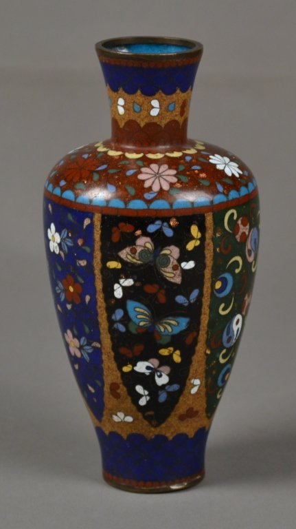 10: Antique Cloisonne Vase