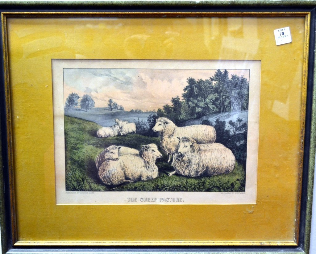 18: Pair of Currier & Ives Lithographs