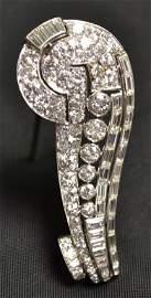 137: Platinum and Diamond Brooch