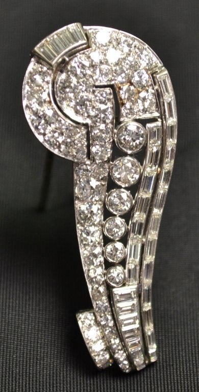 137: Platinum and Diamond Brooch