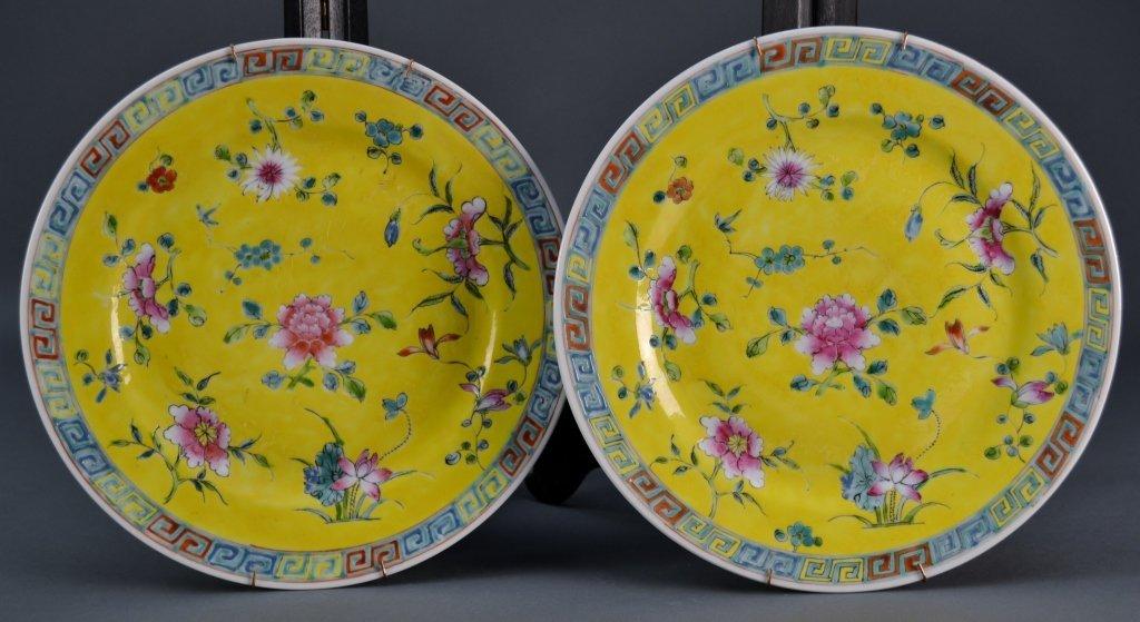 5: Pair Chinese Republic Plates