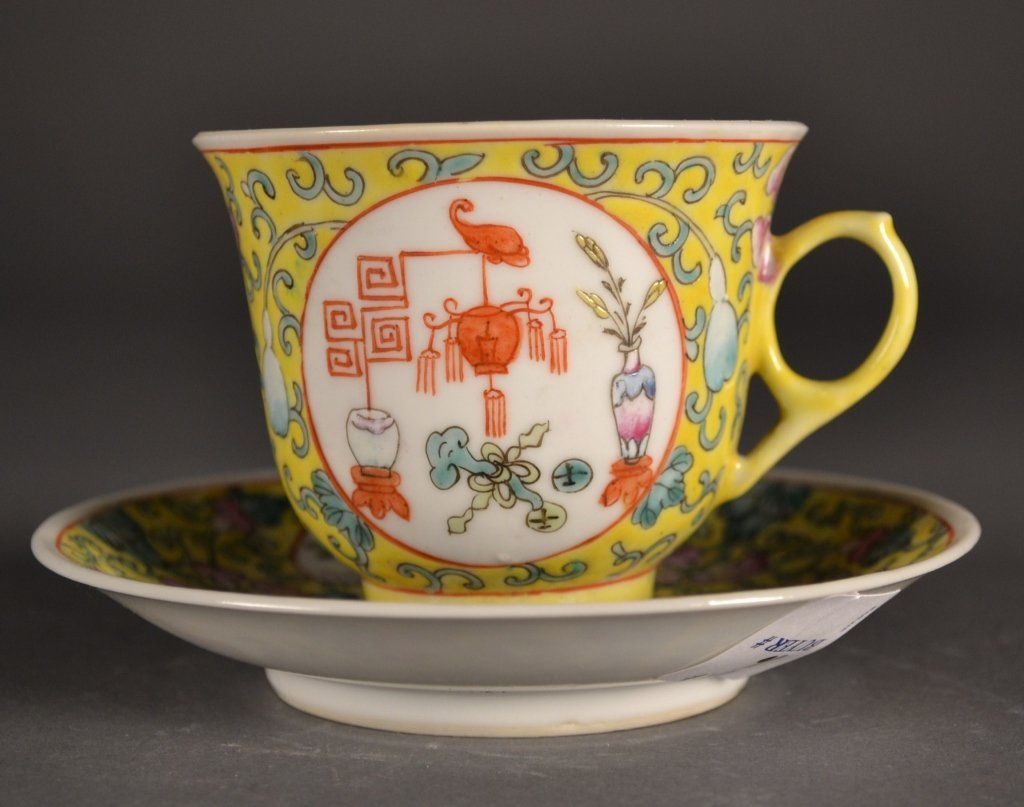 16: Chinese Republic Cup & Saucer