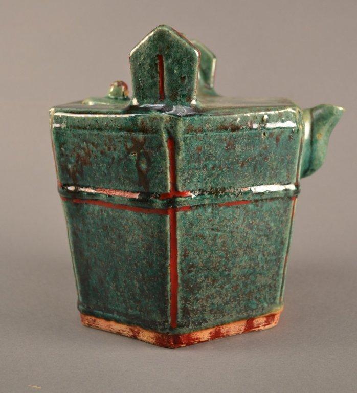Chinese Green-Glazed Water Bucket