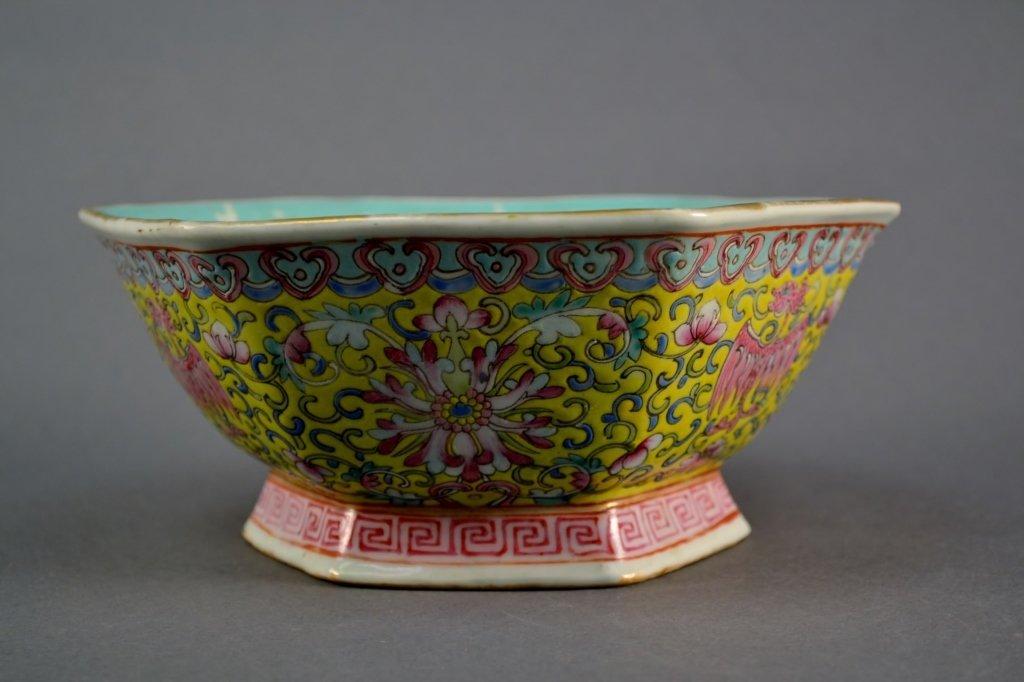 Antique Chinese Republic Bowl