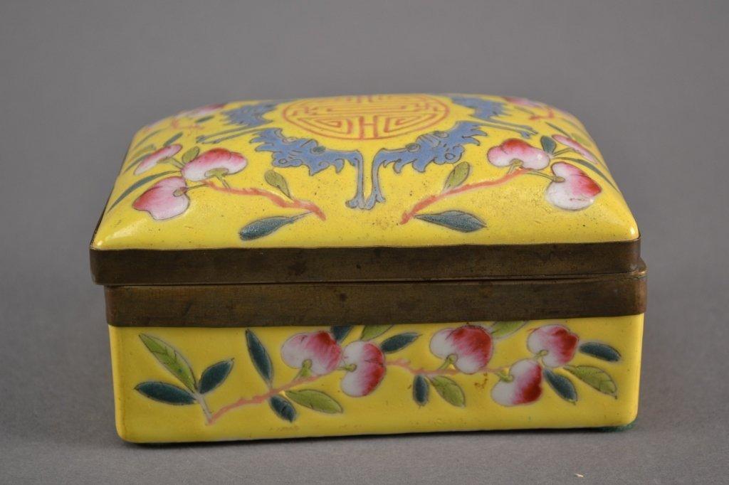 Antiique Porcelain Box