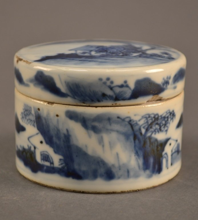 19c Chinese Covered Pot