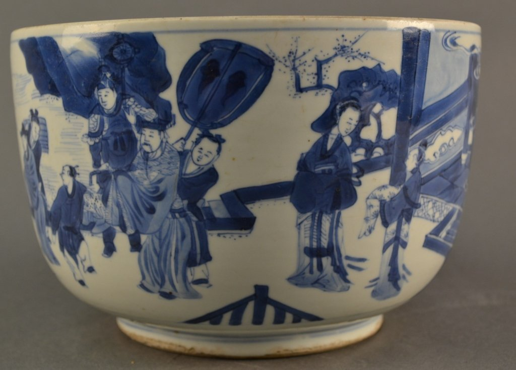 Antique Chinese Kangxi Porcelain Blue & White bowl