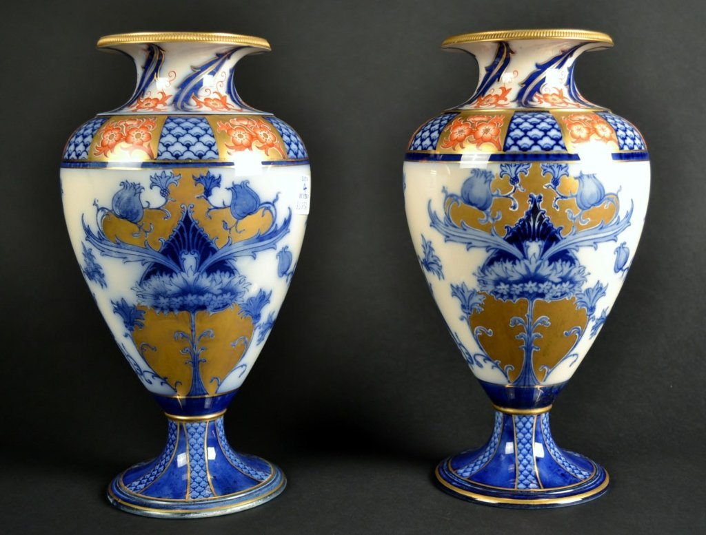 Pair of MacIntyer Burslem Vases Pair of MacIntyer Bursl
